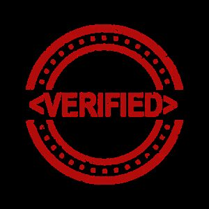 verified, stamp, agreement