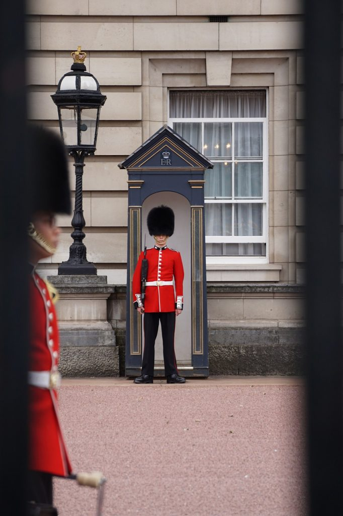 united kingdom, london, changing of the guard